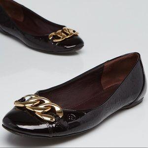💯 Authentic Louis Vuitton Monogram Claudia Flats
